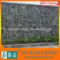 decoração natural preto ardósia da parede de tijolo projetos