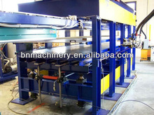 High enffiency Ddiscontinuous Polyurethane (PU)sandwich panel line / Wall & Roof PU sandwich panel making machine