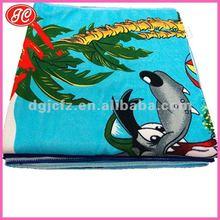 Google 80% polyester 20% nylon printed microfiber beach towel