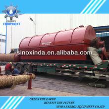 inquinamento libero olio usato per diesel raffinazione macchina
