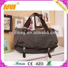 new design canvas travel duffel bag(NV-TB137)