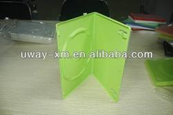 UW-DVD-246 7mm green single dvd case/7mm green dvd box