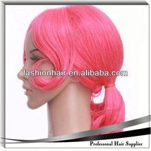 2014 China fashion Cosplay wig,Brazilian virgin hair,Yiwu hair pre bonded nail tip hair extensions