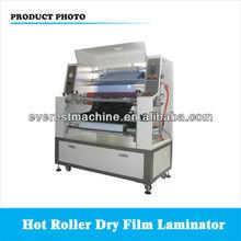 Dry film laminator for metal plate