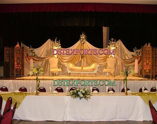 See larger image ELEGENT ASIAN WEDDING STAGE SET