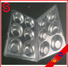OEM transparent blister packaging box/ retail clam shell packaging