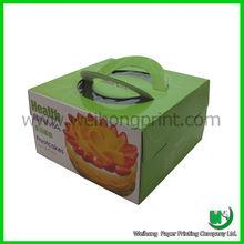Dongguan China wholesale cake carrier paper box