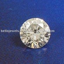 Certified 0.10 Carat Round Diamond Solitaire