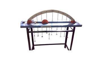 Three Hinged Arch apparatus