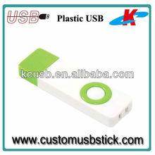 personalized good looking plastic usb pen drive 64GB
