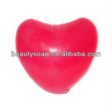 decorative soap red lovely heart handmade soap