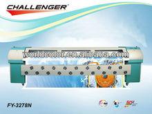 High Quality!! Infiniti/Challenger Solvent Printer FY-3278N, with 8 Seiko SPT510/50pl head,tarpaulin printing machine