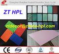 Hpl ; alta brilhante HPL ; cor sólida Formica