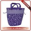 gift bag with soft string white velvet drawstring gift bag