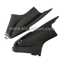 Carbon air duct covers motorcycle spare parts for Yamaha R6