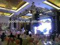 Iluminação de palco de casamento truss torre / pilar