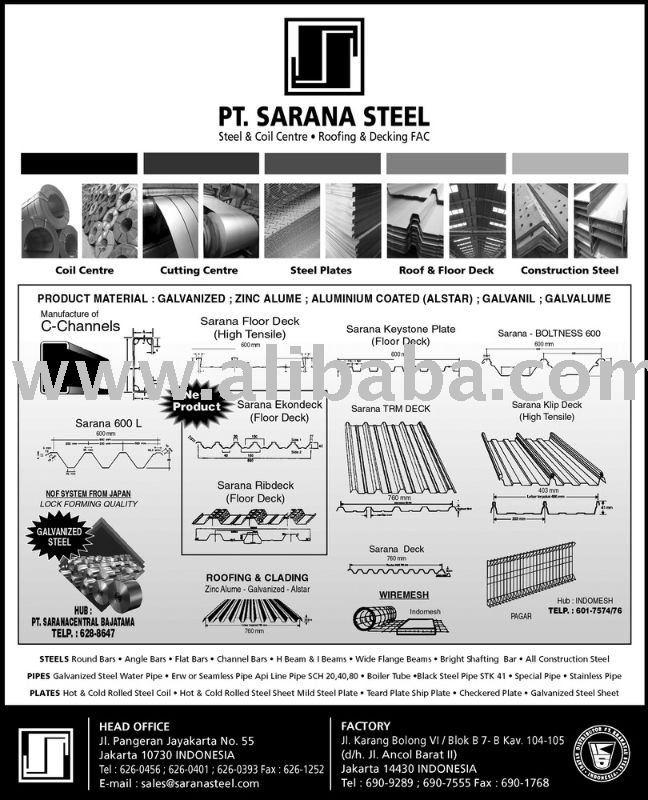 Steel Coil : SPCC-SD JIS G 3141 -- SPHC-PO & SPHC JIS G 3131