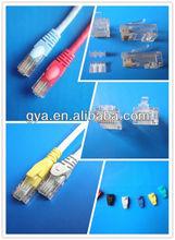 pvc/lsoh grey, blue patch cord test Rj45 cat6a utp