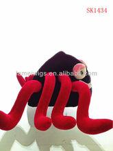 las ventas caliente la tapa del carnaval de fútbol divertido sombreros ventilador para ventas al por mayor sk1434 artículo