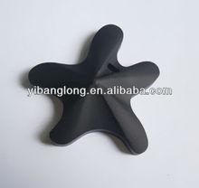 YBL-323 Turquoise,Black,Orange,Silicon pendant teether,Fashion Pendant teether