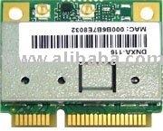 DNXA-116: 802.11n a/b/g wifi 2x2 PCIe half-mini card, HB116/AR9382