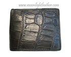 100% Genuine Crocodile Leather Men's Bifold Wallet