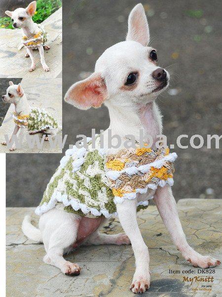 Patrones de ropa a ganchillo para perros - Imagui