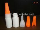 5ml/10ml empety plastic HDPE Cyanoacrylate adhesive/epoxy adhesive flat super glue bottle with metal pin cap JB-137