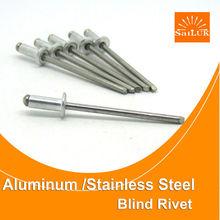 Sujetador proveedores de acero inoxidable / acero remache