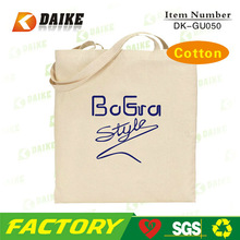 Factory Cotton Wholesale Zebra Print Shopping Bags DK-GU050