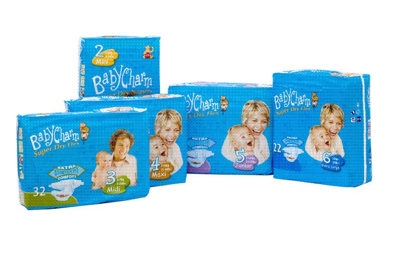 Comforts For Baby Diapers. Babycharm aby diapers(Belgium