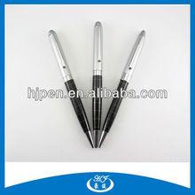 Silver Cap Engraved Barrel Souvenir Metal Ball Pen