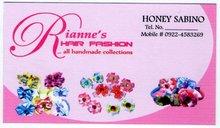 Rianne hair accessories