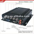 competitivo 4ch h 264 dvr manuale interno con schermo 3g wifi gps opzionale