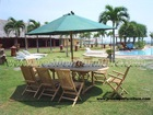 Teak Garden / Outdoor Furniture Oval Ext. Table