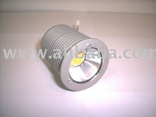 Felina High power led spot 50 mm 12 v. 1000 mA 2700k, set of 3 pcd incl driver and connectors