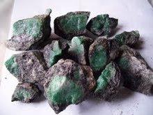 Emerald Mine and Stones