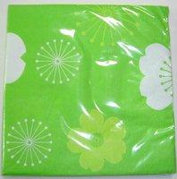 printed paper napkins Christmas designs
