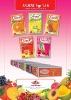 flavoured instant drink with orange