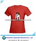 Designer xxl lovely girl t shirt
