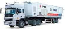 Bitumen-Cement Mortar Semitrailer