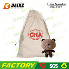 Rope Handle Canvas Round Drawstring Bag DK-E326