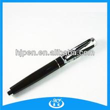 Quality Fat Barrel Customized Logo Top Metal Roller Pens