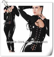 fashion 2013 leather lingerie,lady lingerie,sexy superman lingerie A5082