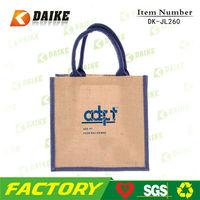 Easy Carry Durable Jute jumbo shopping bag DK-JL260
