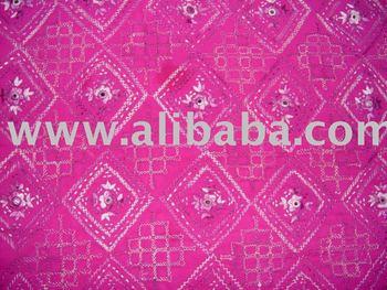 Pakistan Multan Handmade Embroidered Mirror Lady Salwar Kameez Suits