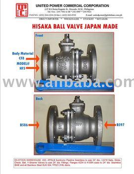 HISAKA Ball Valve JAPAN Made