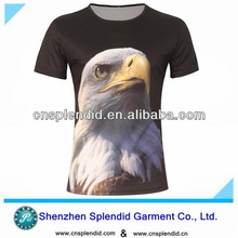 Most popular printing oem sublimation 3d t-shirt