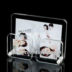 2015 latest promotional creative desktop acrylic photo frame