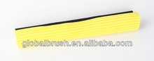 HQ524 soft yellow 38cm PVA mop spare part,washable mop head